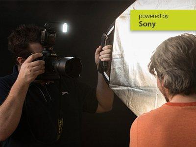 Sony Portrait und Blitzen