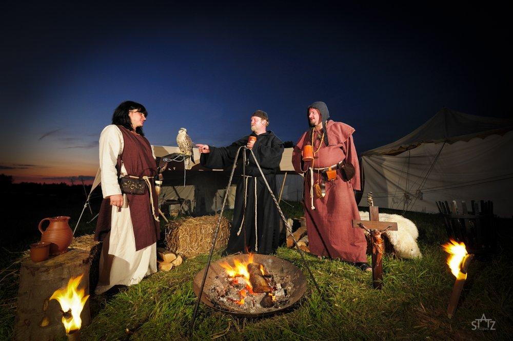 Mittelalterliche Menschen