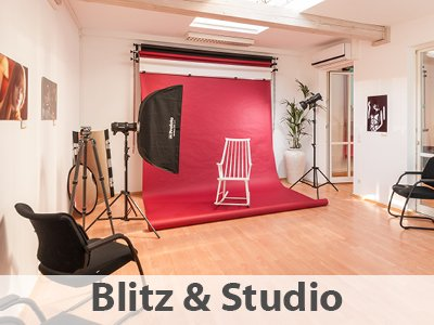 Fotostudio in Fotoschule Darmstadt