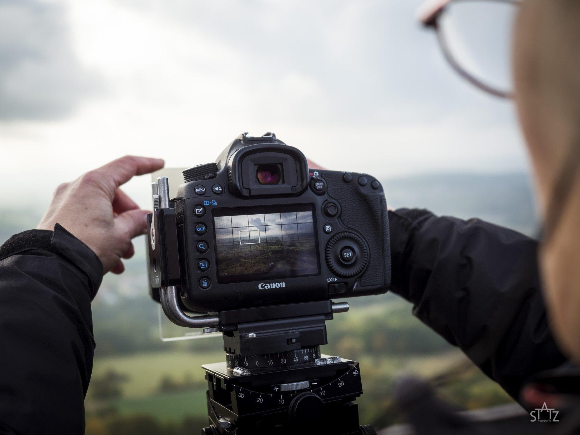 Landschaftsfotografie Filtereinsatz fotogena Akademie Uwe Statz
