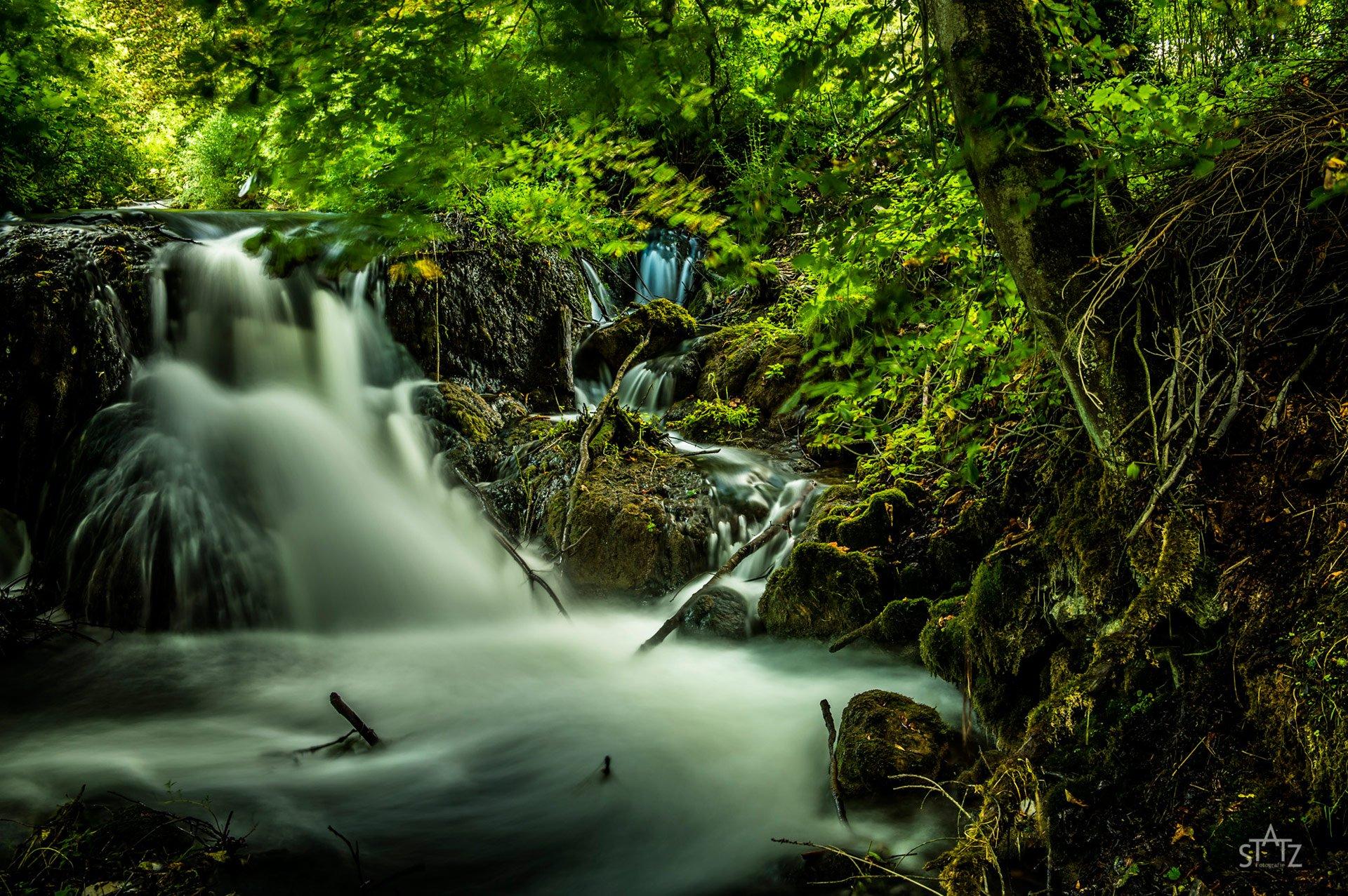 Uwe Statz Fränkische Schweiz Landschaft mit Filter