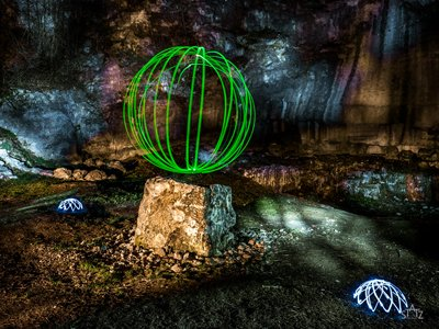 Painting the Wall – Faszination Lightpainting