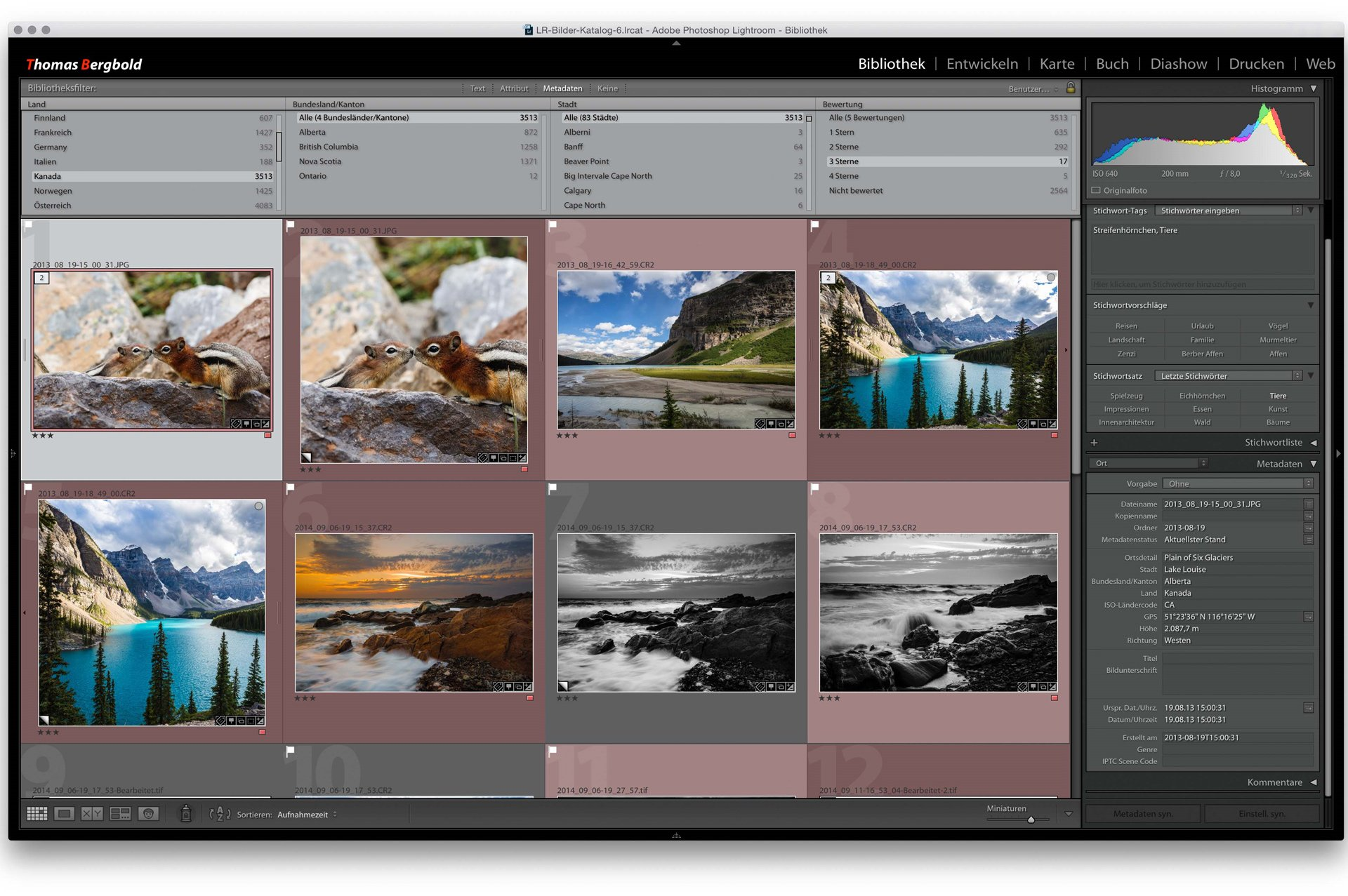 Adobe Lightroom Worms Thomas Bergbold