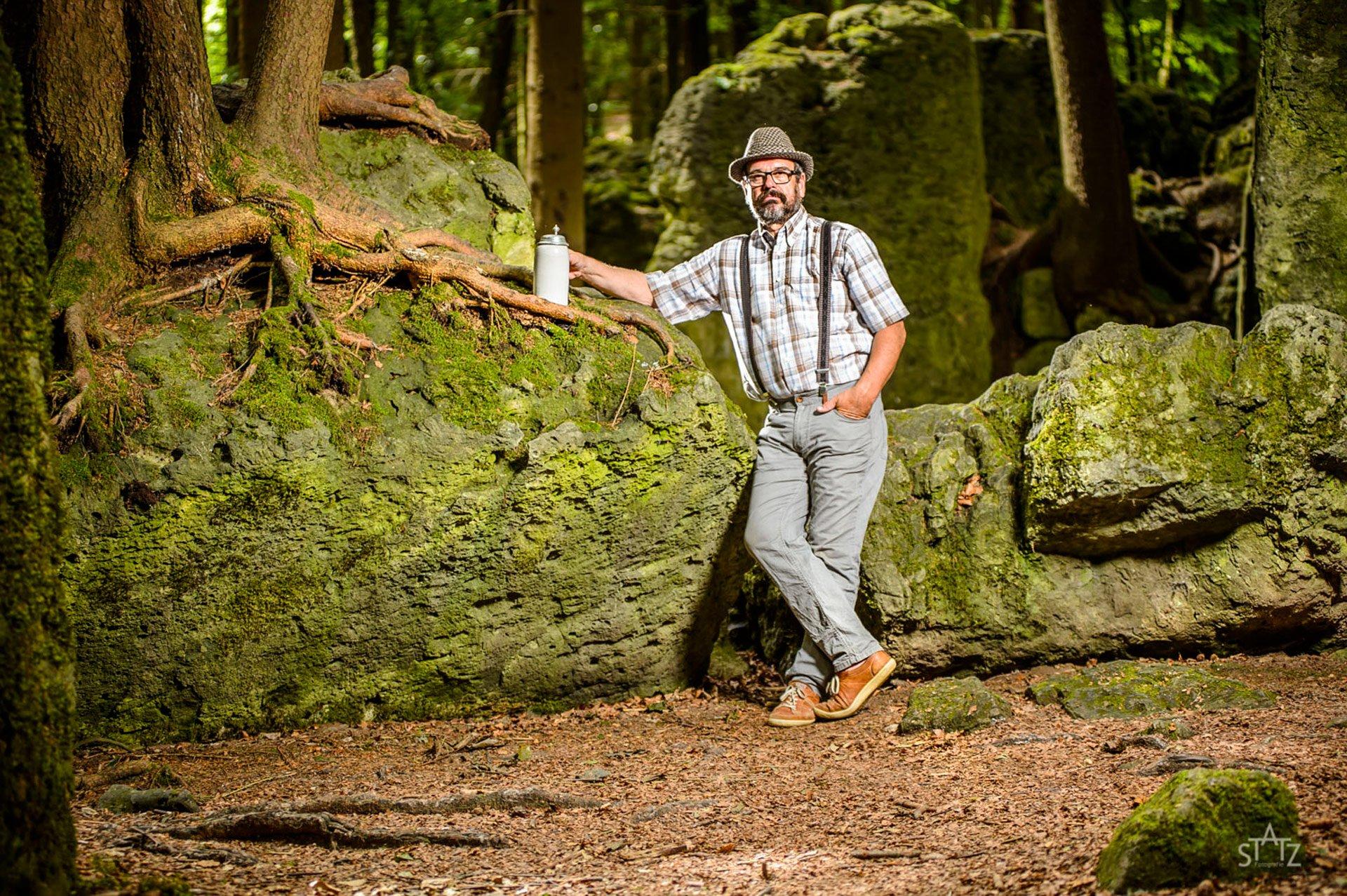 Fränkische Schweiz Mensch und Landschaft Uwe Statz