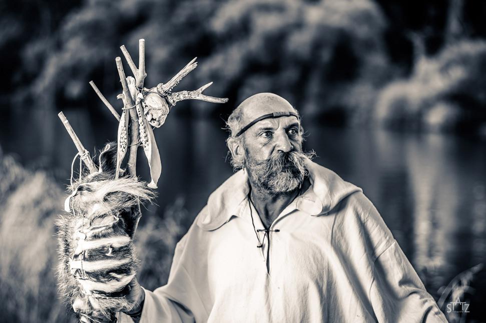 Uwe Statz Mystisches Portrait am Felsenmeer
