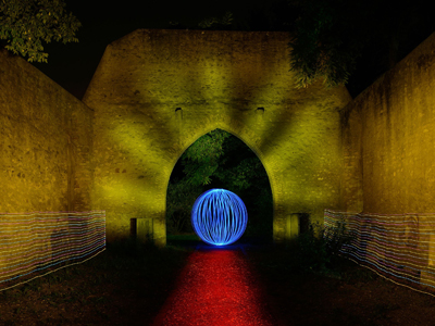 Lightpainting – Worms