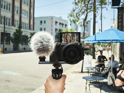 Sony für Vlogger
