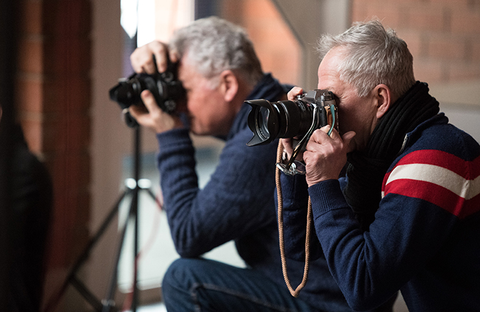 Präsens-Fotokurse aktives fotografieren