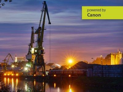 Canon – Architektur- und Industriefotografie im Industriehafen Mannheim